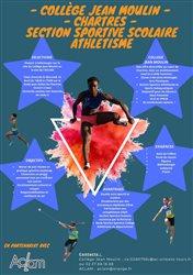 Section Sportive Scolaire Athlétisme au Collège Jean Moulin