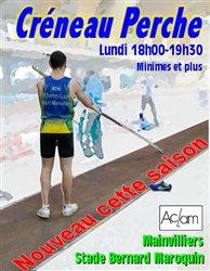 Créneau Perche le lundi de 18h00 à 19h30